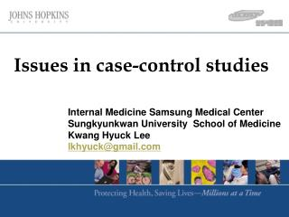 Issues in case-control studies