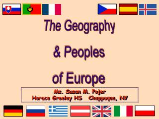 The Geography  Peoples of Europe