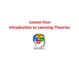 BRUNER THEORY OF LEARNING