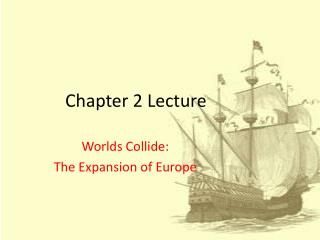 Chapter 2 Lecture