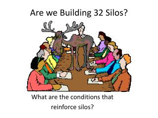 Are we Building 32 Silos?
