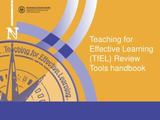 Teaching  for Effective  Learning ( TfEL )  Review  Tools  handbook