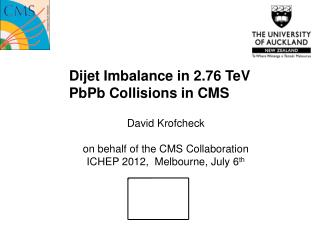 Dijet Imbalance in 2.76  TeV PbPb  Collisions in CMS