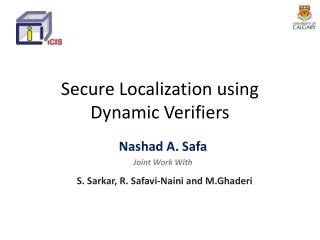 Secure Localization using Dynamic Verifiers