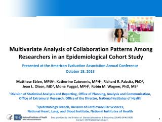Presented at the American Evaluation Association Annual Conference October 18, 2013
