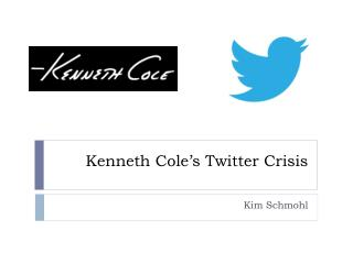 Kenneth Cole's Twitter Crisis