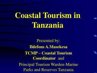 Coastal Tourism in Tanzania