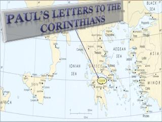 Paul's Letters to the  Corinthians