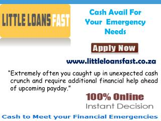 Little Loans Fast Comes With Bad Credit Wihout Any Hassle