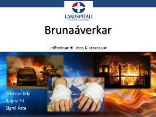 Brunaáverkar Leiðbeinandi : Jens  Kjartansson
