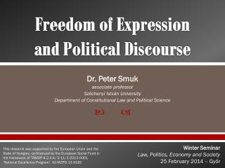 Freedom of Expression  and Political Discourse