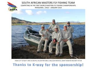 Thanks to K-way for the sponsorship!