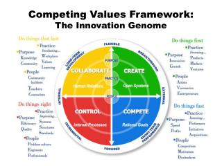 Competing Values Framework:  The Innovation Genome