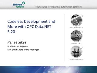 Codeless Development and More with OPC Data.NET 5.20