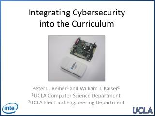 Integrating Cybersecurity into the Curriculum