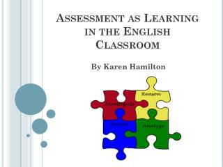 Assessment as Learning in the English Classroom