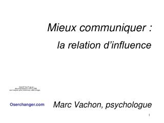 Communication et influence