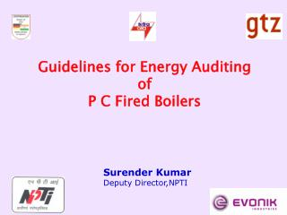 Guidelines for Energy Auditing  of P C Fired Boilers