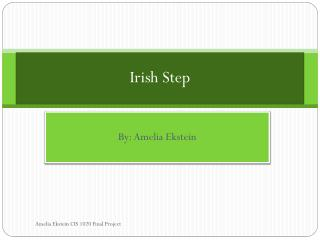 Irish Step