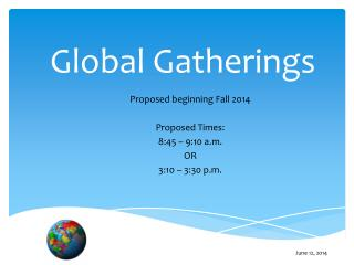 Global Gatherings