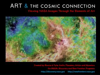 ART &  THE COSMIC CONNECTION