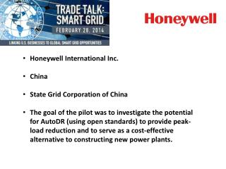 Honeywell International Inc. China State Grid Corporation of China