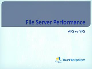 File Server Performance