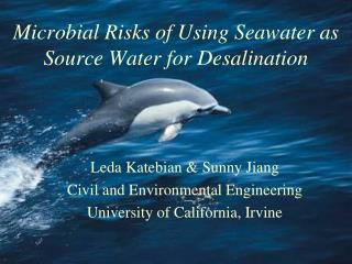 Microbial Risks of Using Seawater as Source Water for Desalination