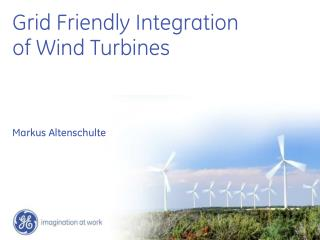 Grid Friendly Integration of Wind Turbines
