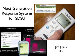 Next Generation Response Systems for SDSU