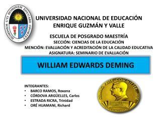 UNIVERSIDAD NACIONAL DE EDUCACIÓN ENRIQUE GUZMÁN Y VALLE ESCUELA DE POSGRADO MAESTRÍA