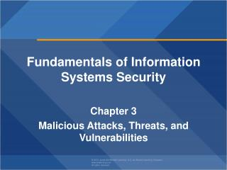 Fundamentals of Information  Systems Security  Chapter  3