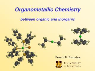 Organometallic Chemistry between organic and inorganic