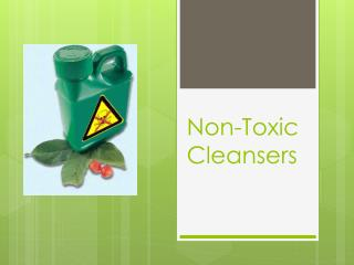 Non-Toxic Cleansers