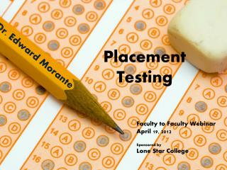 Placement Testing