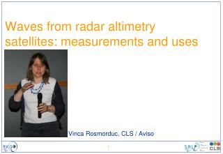 Waves from radar altimetry satellites: measurements and uses
