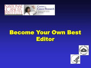 Become Your Own Best Editor