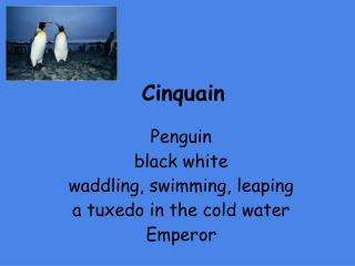 famous cinquain poem examples powerpoint ppt presentations on