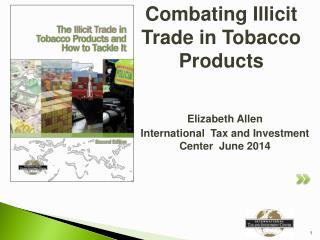 Combating Illicit  Trade in Tobacco Products