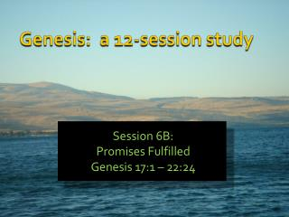 Genesis:  a 12-session study