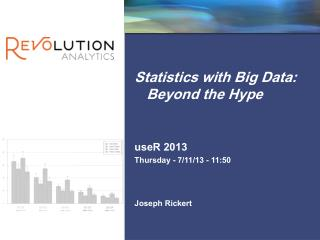 Statistics with Big Data: Beyond the Hype