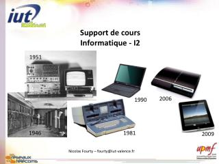 Support de cours Informatique - I2
