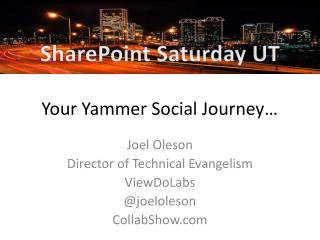 Your Yammer Social Journey…
