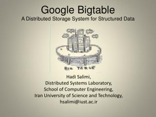 Google  Bigtable A Distributed Storage System for Structured Data