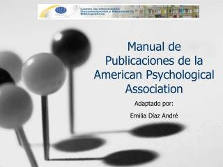 Manual de Publicaciones de la American  Psychological Association