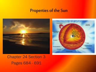 Properties of the Sun