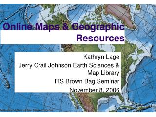 Online Maps & Geographic Resources