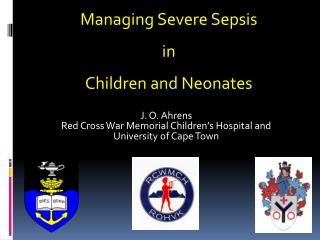 J. O. Ahrens Red Cross War Memorial Children's Hospital and University of Cape Town