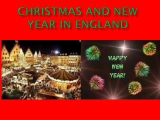 Christmas and New Year in England