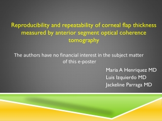 Intraclass correlation coefficients